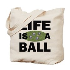 Life Is A Ball Bocce Tote Bag