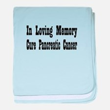 Cool Pancreatic cancer baby blanket