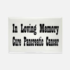 Cute Pancreatic cancer survivor Rectangle Magnet