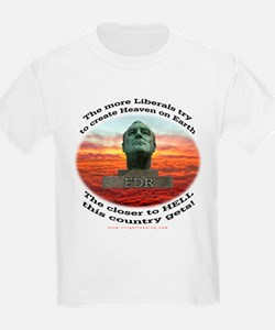 Liberal Hell on Earth Kids T-Shirt