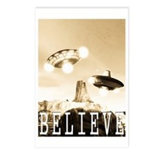 CE3K UFOs V2 BELIEVE Postcards (Package of 8)