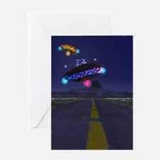 The Extraterestrial Highway Greeting Card