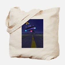 The Extraterestrial Highway Tote Bag