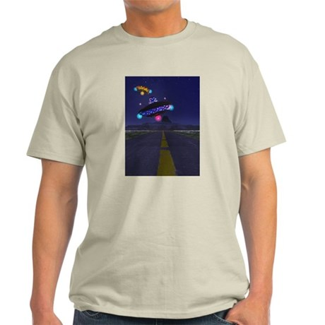 The Extraterestrial Highway Light T-Shirt