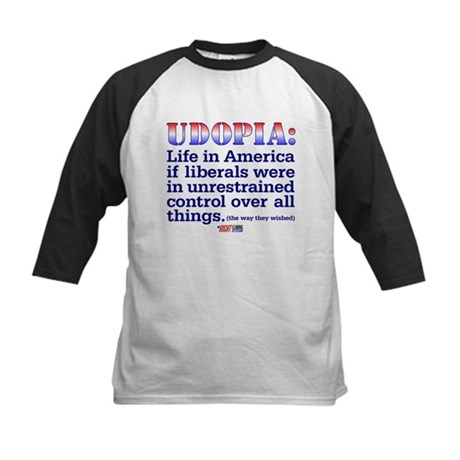 "Liberal ""Udopia"" Kids Baseball Jersey"