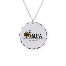 OOMPA w/ venues Necklace Circle Charm