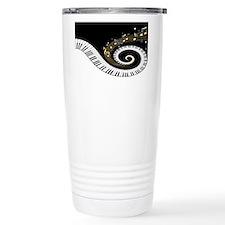 Mixed Musical Notes (black go Travel Mug