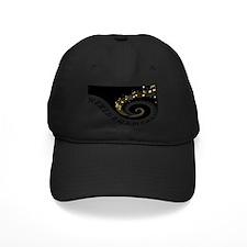 Mixed Musical Notes (black go Baseball Hat