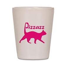 Pizzazz Cat Shot Glass