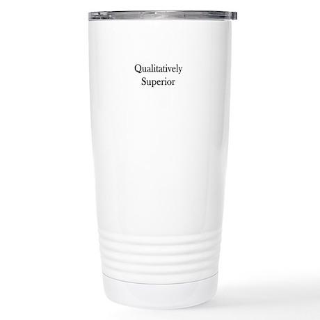 Qualitatively Superior Stainless Steel Travel Mug