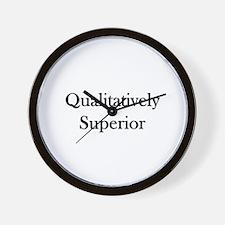 Qualitatively Superior Wall Clock