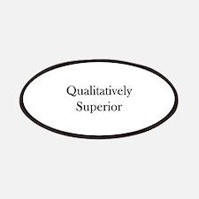 Qualitatively Superior Patches