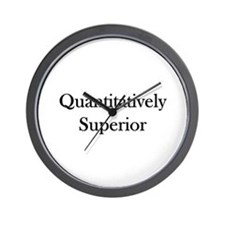 Quantitatively Superior Wall Clock