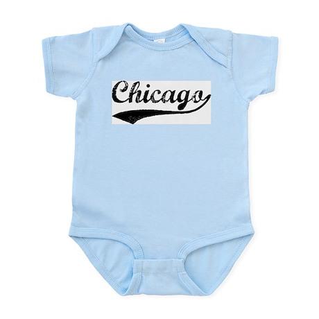 Vintage Chicago Infant Creeper