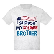 Soldier Brother Support T-Shirt