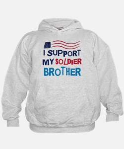 Soldier Brother Support Hoodie