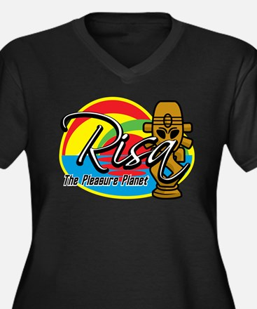 Risa: The Pleasure Planet Women's Plus Size V-Neck