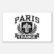 Paris France Decal