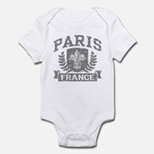Paris France Infant Bodysuit