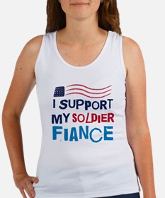 Soldier Fiance Support Women's Tank Top