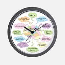 Funny Quilting Wall Clock