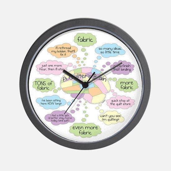 Cute Hobbies Wall Clock