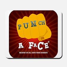 Punchaface Mousepad