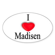 Madisen Oval Decal