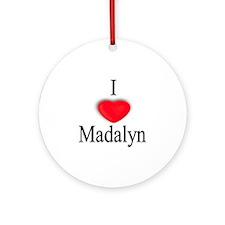 Madalyn Ornament (Round)