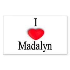 Madalyn Rectangle Decal
