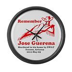 Remember Jose-2 Large Wall Clock