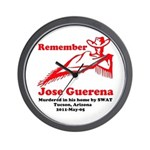 Remember Jose-2 Wall Clock