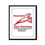 Remember Jose-2 Framed Panel Print