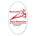 Remember Jose-2 Sticker (Oval)