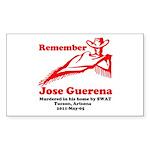Remember Jose-2 Sticker (Rectangle)