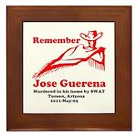 Remember Jose-2 Framed Tile