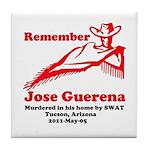 Remember Jose-2 Tile Coaster