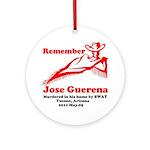 Remember Jose-2 Ornament (Round)