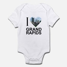 I Heart Grand Rapids Infant Bodysuit