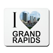 I Heart Grand Rapids Mousepad