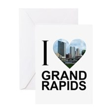 I Heart Grand Rapids Greeting Card
