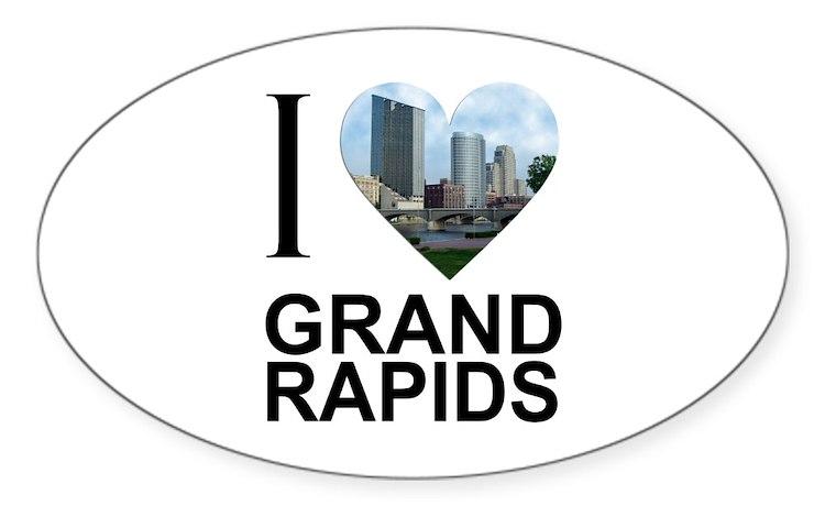 Canapé En Soldes Chez Fly : Grand Rapids Bumper Stickers  Car Stickers, Decals, & More