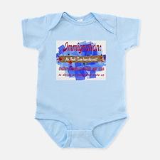 Dubya's Wall Of Shame Infant Bodysuit