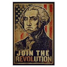 Washington Revolution Large Poster