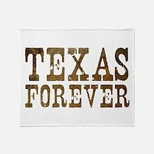 Cute Texas forever Throw Blanket