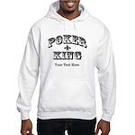 Customizable Poker King Hooded Sweatshirt