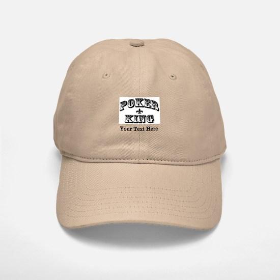 Customizable Poker King Baseball Baseball Cap