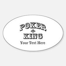 Customizable Poker King Decal