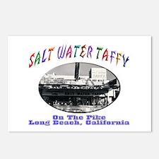 Salt Water Taffy Postcards (Package of 8)