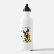 German Shepherd IAAM Water Bottle